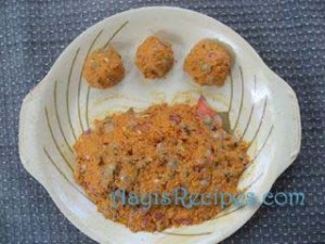 Clam vada (Khubbe/tisre vade)