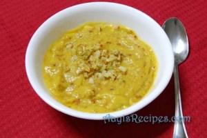 Garlic mango chutney(losney-ambli gojju)