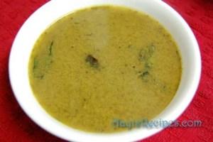 Gravy from vegetable stock(Bassaru or Upsaru)
