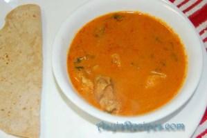 Shark gravy with garam masala(Mori – garam masale ambat)