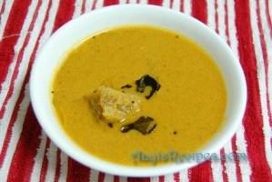 Ash gourd gravy with coconut (KuvaLe koddel)