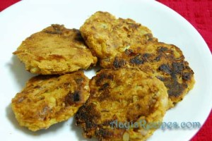 Cabbage vada(Daangar)