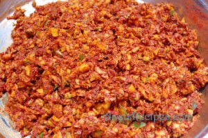 Mango pickle(HinDi/Kochla nonche)