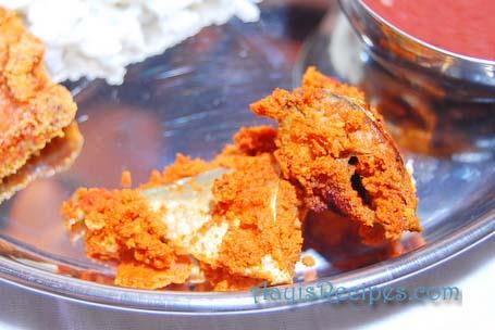 A nonvegetarian Konkani thali - Aayis Recipes