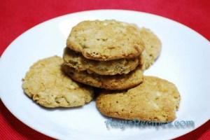 Apple walnut cookies