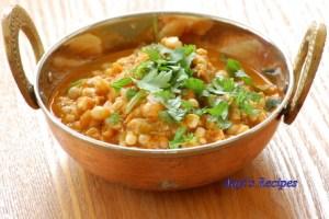 Corn-Capsicum curry