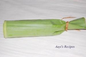 Idlis In Banana/Jackfruit leaves (Easy Hittu/Khotte/Kadubu)