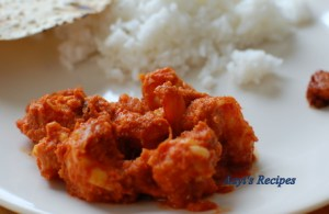 Prawns In Spicy Coconut Sauce (Sungta Sukke/Dhoddak)