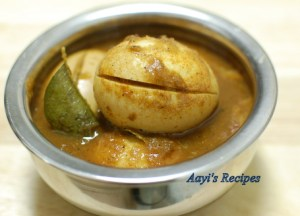 Tangy Egg Gravy (Egg Pulusu)