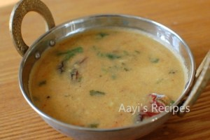 Dal With Garlic-Cumin-Shallot Flavor