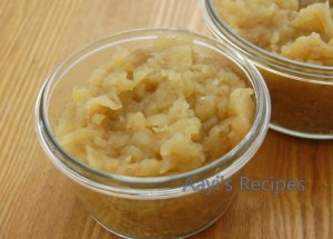 Apple Sauce (Without Sugar)