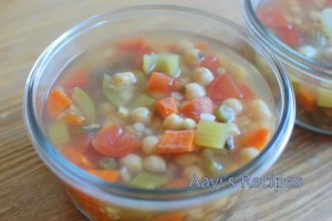 Chickpeas-Vegetable Soup