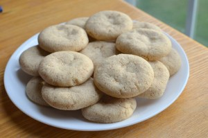 Saffron-Almond Flavored Cookies (Eggless)