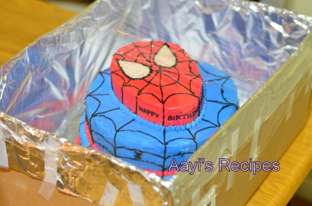 spiderman cake19