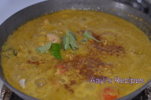 chicken gravy with garam masala10