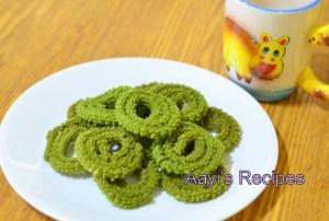 Spinach Chakli