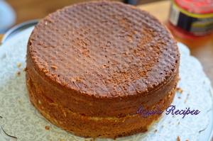 eggless cardamom cake9