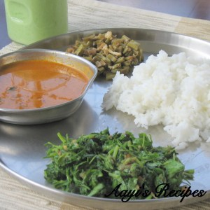 Fenugreek Leaves Salad (Methi Hasi Palya)