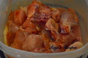 chicken gravy with mint4
