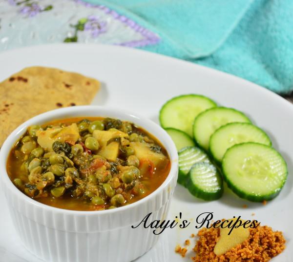 Tuvar Lilva Bhaji