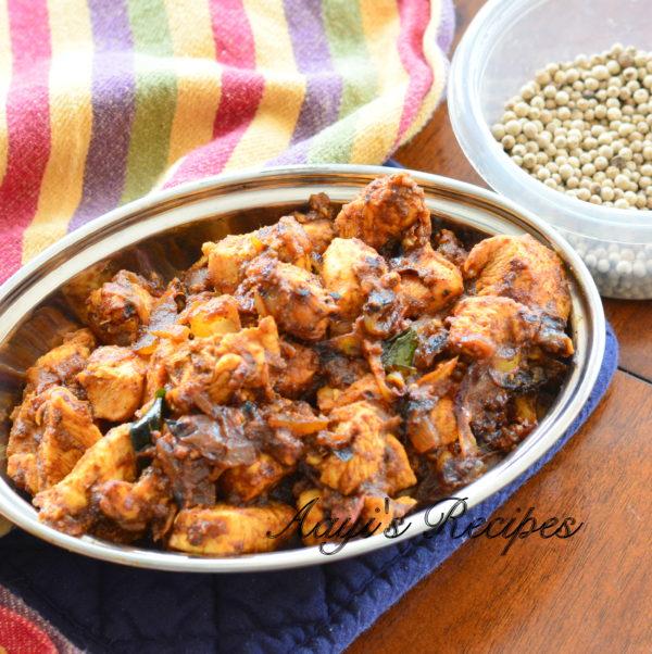 Pepper Masala Chicken