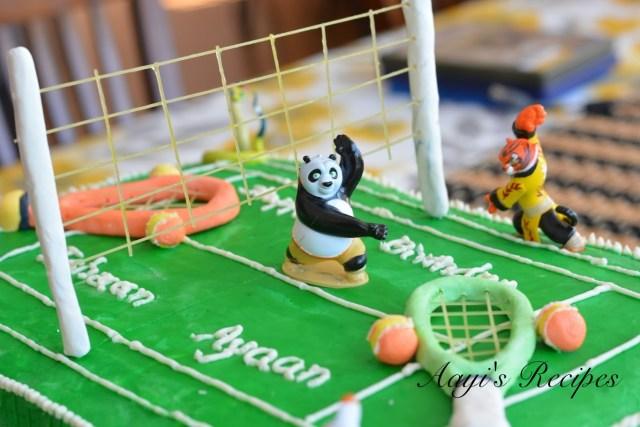 Kung fu paanda-tennis cake4