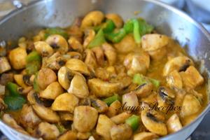 mushroom-capsicum gravy12