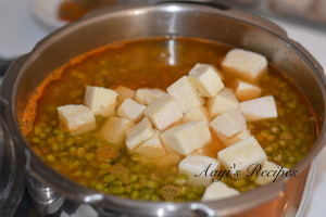 green moong - paneer masala6