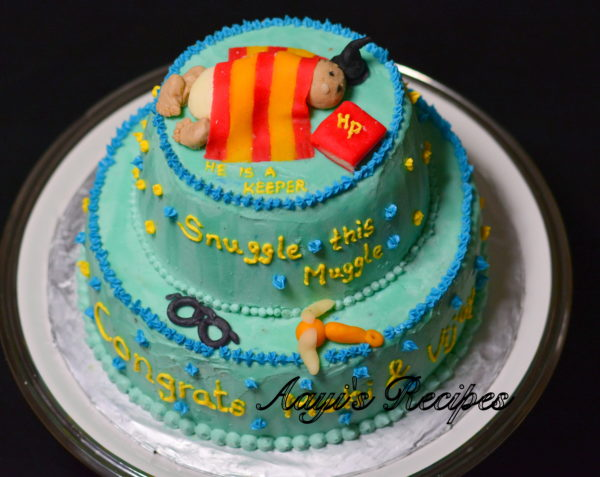 Superb Harry Potter Cake3