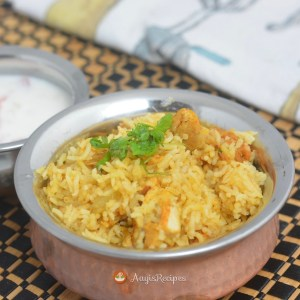 Chicken Biryani With Coconut Milk