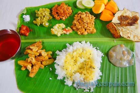 Konkani Veg Thali