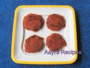 Hot and Sour Cutlet (Amshe Tiksani Phodi)