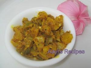 Green Chilli – Gooseberry Pickle (Mirsangi – Avale Nonche)