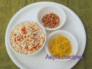 Spicy Puffed Rice (Kalaylo Chirmuro) with Poha Masala