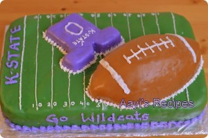 K-State Football Cake