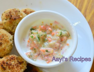Raita with Chutney Pitto (Powder)