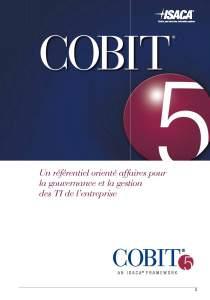COBIT 5 Référentiel en français