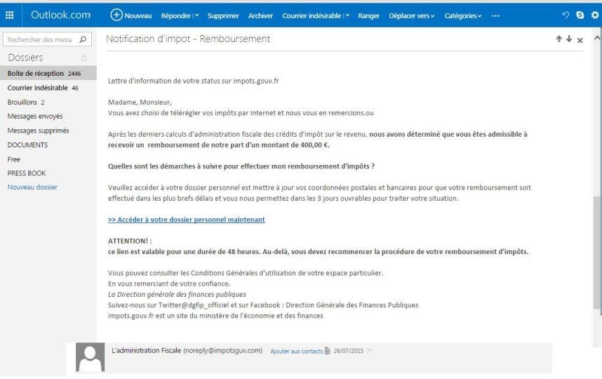 10 Trucs Pour Reconnaitre Un Mail D Hameconnage Blog De La