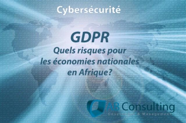 COBIT, GDPR et la protection des données