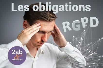 RGPD/GDPR : Les obligations