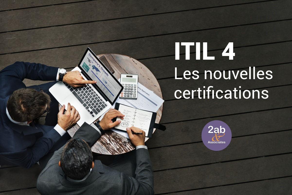 Itil 4 De Nouvelles Certifications Blog De La Transformation