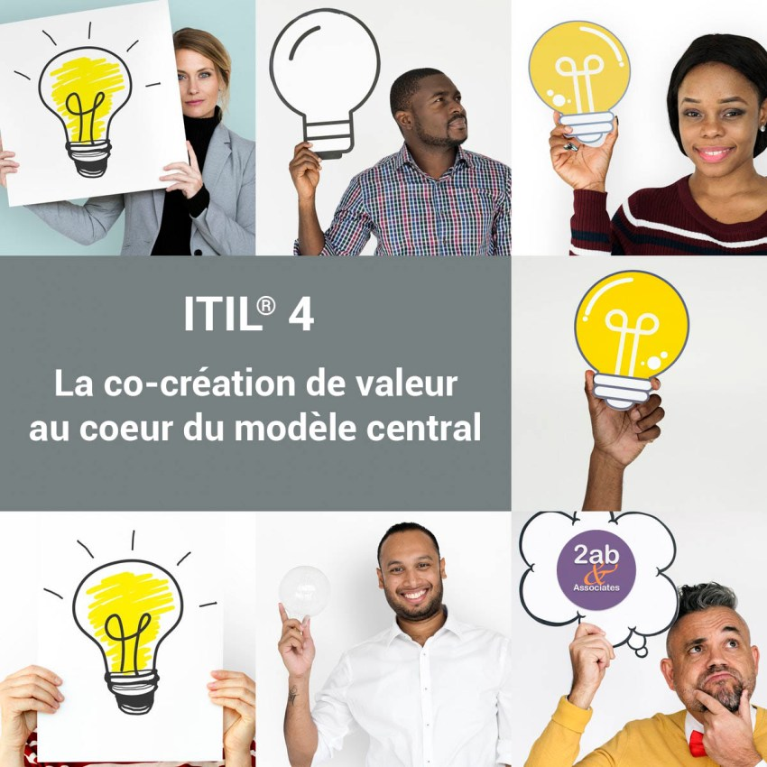ITIL 4 : la co-création de valeur au coeur du modèle central