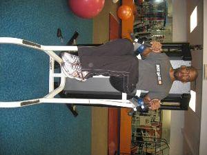 captains chair gym machine director lawn chairs popular ab equipment exercises oblique knee raises on a best