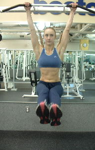 Hanging Leg Raises Lower Abdominal Exercise