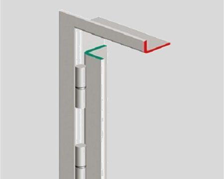 barre de pivot sur cadre ab fermetures le havre