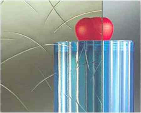 Verre décoratif 4 mm ( Gusantique ) Vitrerie AB Fermetures Le Havre