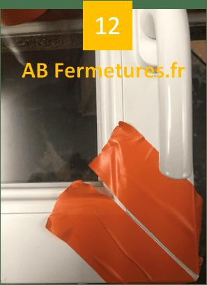 Démonstration réparation menuiserie pvc - Etape 12 - AB Fermetures Le Havre
