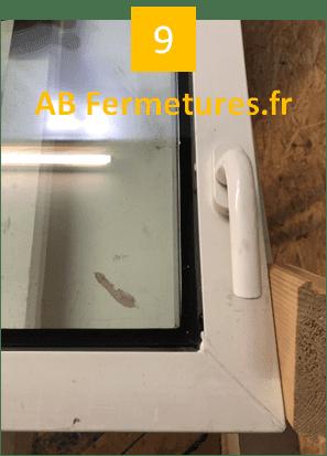 Démonstration réparation menuiserie pvc - Etape 9 - AB Fermetures Le Havre