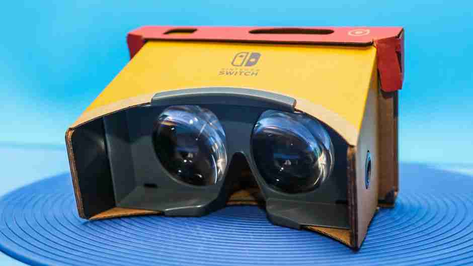 The Opportunities of Nintendo Labo VR