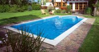 Betonierte Pools - Pool aus Massivbeton (Massivbeton-Pool)